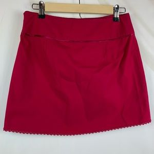 Limited Mini Skirt Size 0 Pink NWT